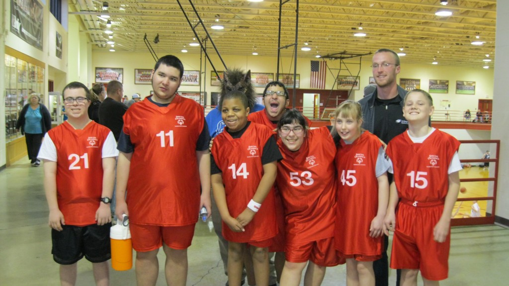 Maddie's Special Olympics of Hamilton County Bball Team